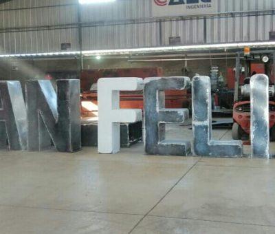 El 7 de agosto inaugurarán intervención urbana con letras volumétricas con el nombre de San Felipe