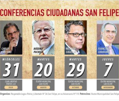 Masonería de San Felipe celebra 110 años con Conferencias Ciudadanas