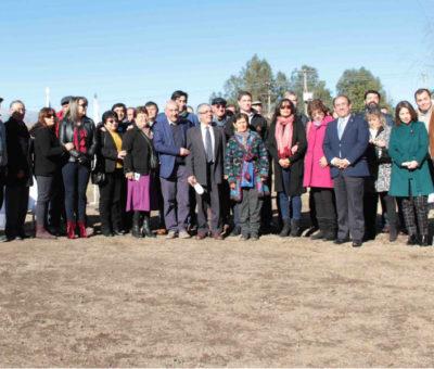 Vecinos de San Rafael construirán plaza en terreno entregado por Codelco Andina