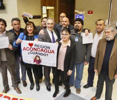 Denuncian que Gobierno no cumplió con licitación de estudio económico de futura Región de Aconcagua