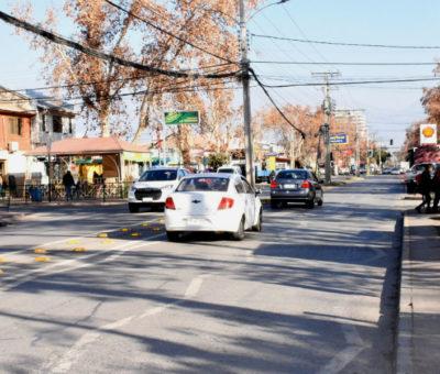 En Los Andes con inversión de $727 millones parte repavimentación en Avenida Santa Teresa