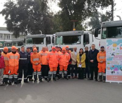 Veolia renueva flota de camiones recolectores de basura en San Felipe