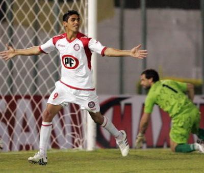 """""""El Ángel del Gol"""" con la camiseta Albirroja se despide del fútbol profesional en el Municipal de San Felipe"""