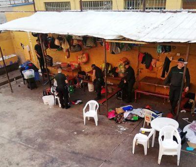 Droga y celulares decomisan en allanamiento a cárcel de Los Andes