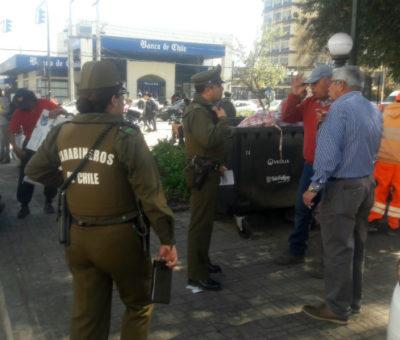 Delincuentes roban más de 11 millones a cliente al interior del Banco Chile en San Felipe