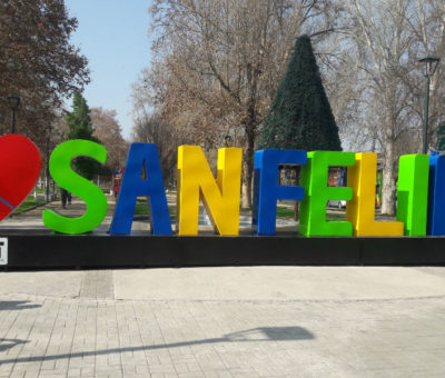San Felipe ya tiene su nombre con llamativas letras corpóreas