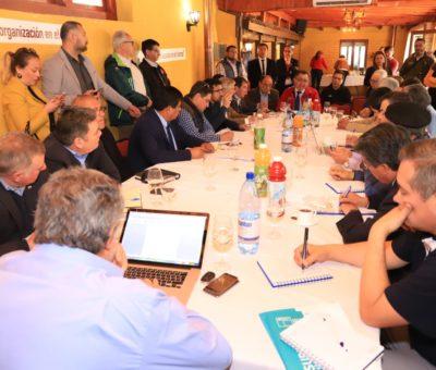 Intendente Martínez en reunión con alcaldes de Aconcagua anuncia inminente declaración de zona de catástrofe por sequía
