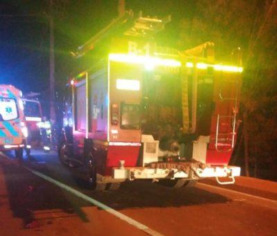 Joven sanfelipeño de 17 años muere en volcamiento de moto en camino Tocornal en Santa María