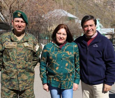 """Operativo cívico militar """"Septiembre Amigo"""" beneficiará a vecinos de Río Blanco en Los Andes"""