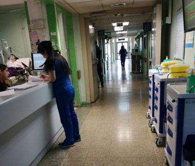 Paramédicos en Paro del Servicio de Urgencia del hospital San Felipe exigen a la autoridad cumplir con la contratación de más personal