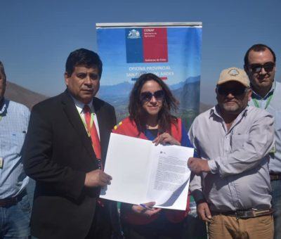 CONAF usará agua de microembalses en Santa María para combatir incendios forestales
