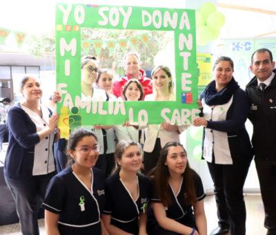 Hospital San Camilo con históricas cifras de procuramiento este año celebró Día del Donante