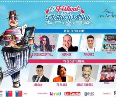 Diego Torres, Américo, Denise Rosenthal serán algunos de los artistas estelares en el Festival del Guatón Loyola