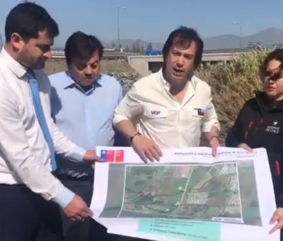 Subsecretario del MOP anunció construcción de nuevos pozos profundos en San Felipe y Llay Llay para enfrentar sequía