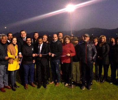 Después de años de espera inauguran Estadio de Morandé de Llay Llay