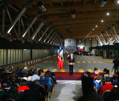 Inauguran nuevo Complejo Fronterizo Los Libertadores que demandó una inversión de 98 millones de dólares