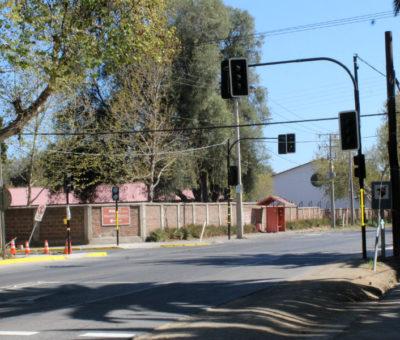 Panquehue pondrá en funcionamiento el primer semáforo de la comuna