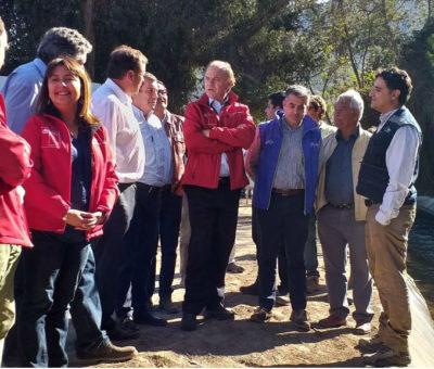 Ministro de Agricultura en Catemu anuncia recursos adicionales por $4.200 millones para enfrentar escasez hídrica en la región