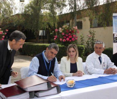 Ingeniero Ricardo Salazar Cabrera asume como nuevo director del Hospital San Camilo