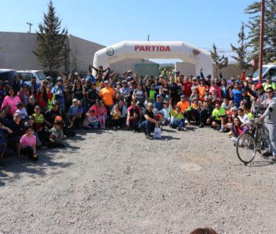 Masiva participación de vecinos en 3° Cicletada Familiar consolida esta actividad deportiva y recreacional en San Felipe