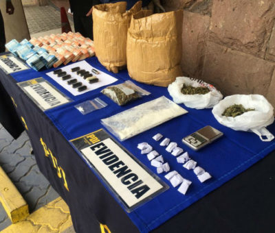 PDI de Los Andes detiene a dos narcotraficantes que tenían centro de acopio y distribución de drogas en Catemu