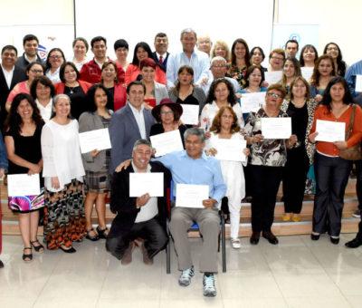 Dirigentes vecinales de Los Andes se capacitan en Escuela de Lideres