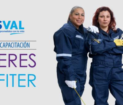 """Esval abre postulaciones a capacitación """"Mujeres Gásfíter"""" en el Valle de Aconcagua"""