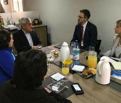 Rinconada impulsa aplicar experiencia de Israel en aprovechamiento del recurso agua para hacer frente a la sequía