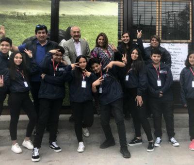 Alumnos de la Escuela José de San Martín de San Felipe viajaron a pasantía a Estados Unidos