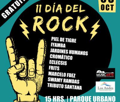 Los Andes en el anfiteatro del Parque Urbano celebrará el Día del Rock