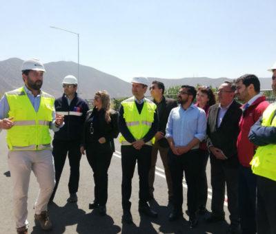 """En Llay Llay a punto de terminar obras del nuevo enlace """"Shell"""" en la Ruta 5 Norte"""