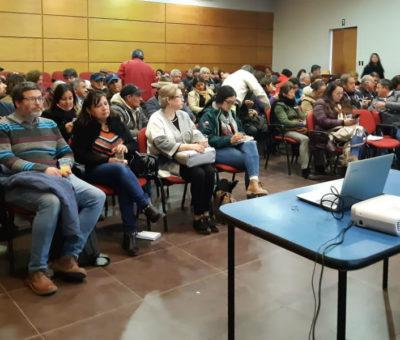 Capacitan a agricultores de la provincia de Los Andes para combatir sequía y la degradación de suelos