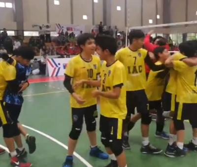 Instituto Abdón Cifuentes y Liceo Cordillera de San Felipe se coronaron campeones nacionales de vóleibol escolar