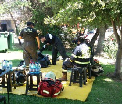 Hospital de San Felipe enfrentó emergencia química por derrame de Acido Peroxiacético