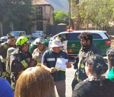 Alumnos y profesores de escuela de Catemu resultaron intoxicados por fumigación en predio agrícola