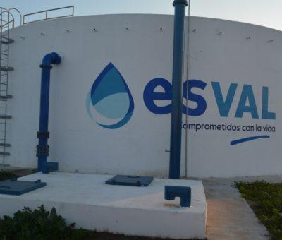 Esval construye nuevo estanque de agua potable que beneficiará a 22 mil hogares de Los Andes
