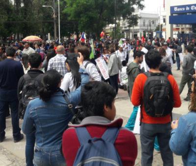Huelga General suma adhesiones diversas en Aconcagua
