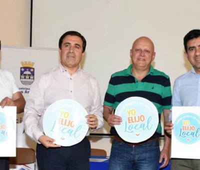 """En Los Andes para ayudar a comerciantes lanzan campaña """"Yo Elijo Local"""""""