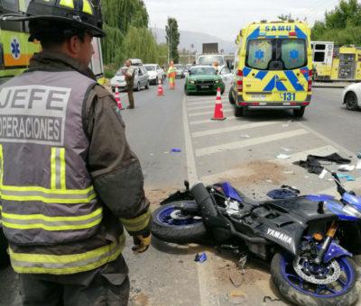 Fatal colisión de motocicleta y camioneta en San Esteban