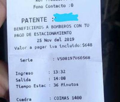 Bomberos de San Felipe desmienten que vayan a recibir aporte económico por cobro de parquímetros