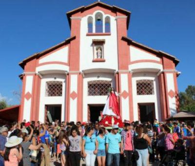 En Santa María confirman para este fin de semana Fiesta Religiosa de Santa Filomena