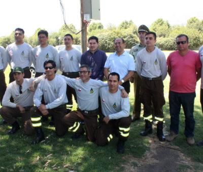 En operaciones Brigada de CONAF que cubrirá el valle de Aconcagua