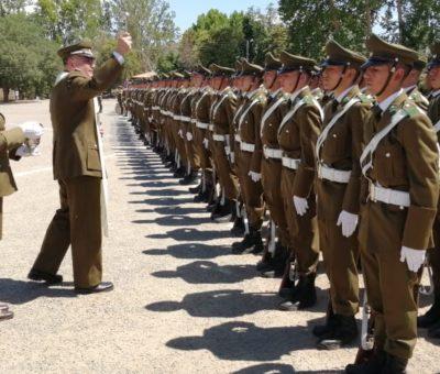 En Los Andes egresaron 109 nuevos Carabineros del Grupo de Formación