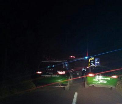Conductor de moto murió al colisionar con una camioneta en Catemu