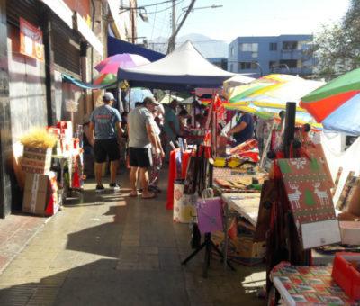 Compras navideñas en Aconcagua con temperaturas máximas inaguantables