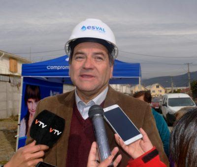 Esval invierte $350 millones en obras que beneficiarán a más de 500 familias en Rinconada