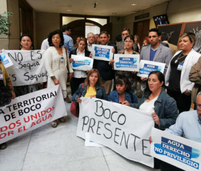 """En Quillota diputados y dirigentes exigen más """"horas de agua"""" del río Aconcagua desde las provincias de San Felipe y Los Andes"""