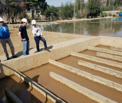 Esval mantiene suministro normal en Los Andes pese a la persistente turbiedad del río Aconcagua