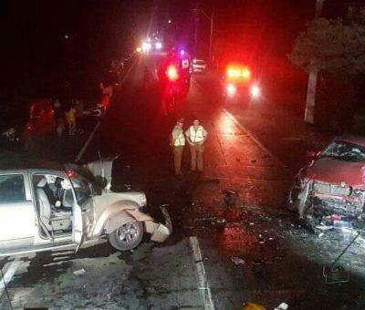 Un muerto y ocho heridos dejó colisión vehicular frontal en Panquehue