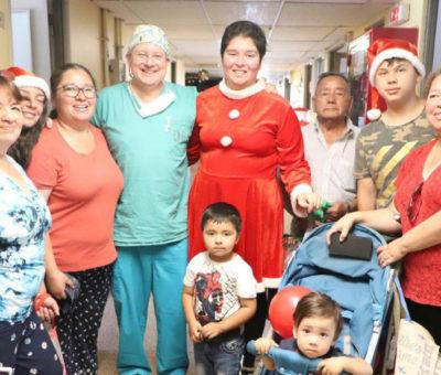 Joven llaillaina sobrevivió al síndrome de Stevens-Johnson en el hospital de San Felipe